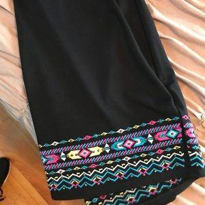 Torrid Tribal Beaded Pencil Skirt